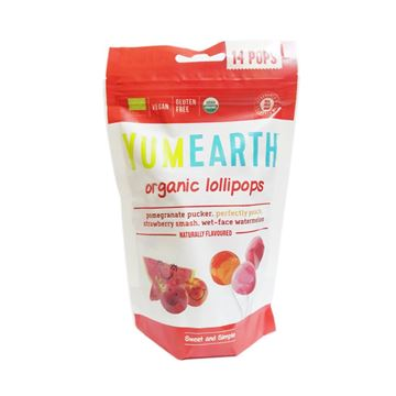 Picture of YUM EARTH organic lollipops