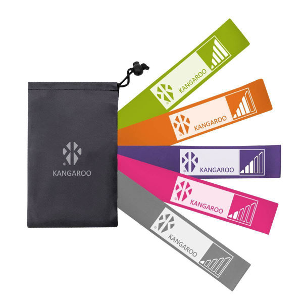 Picture of Resistance bands set - kangaroo