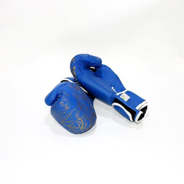 صورة قفاز الملاكمة ازرق