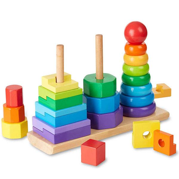 صورة لعبة تجميع الكتل بشكل هندسي