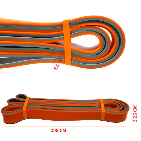 Picture of Pull resistance bands  2.5 cm - orange