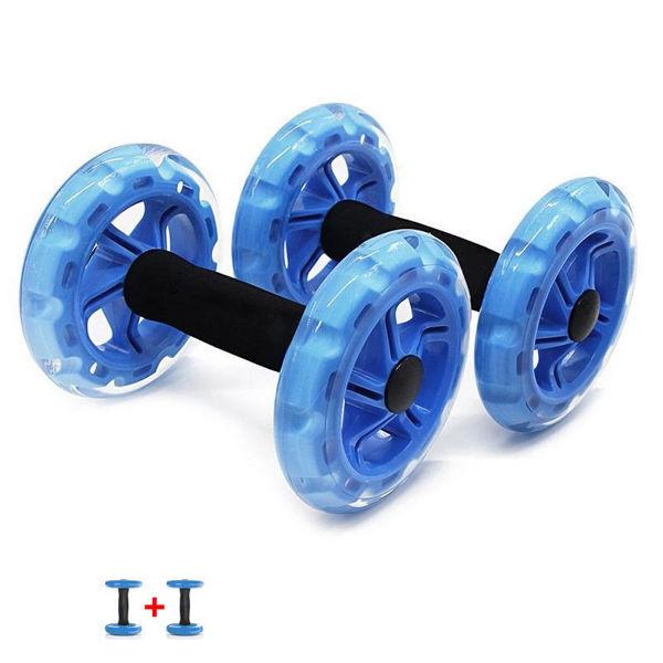 صورة العجلة  المتدحرجة - قطعتين - ازرق - استوك